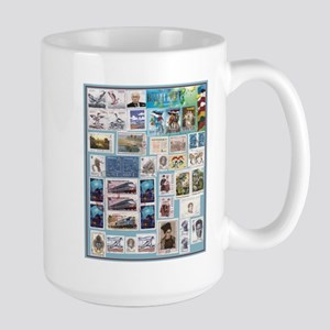 Philatelist Large Mug