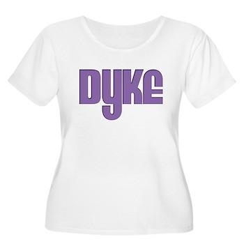 Purple Dyke Women's Plus Size Scoop Neck T-Shirt