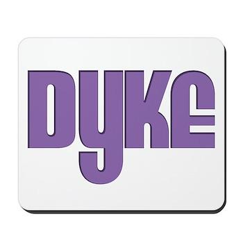 Purple Dyke Mousepad