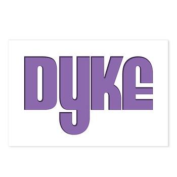 Purple Dyke Postcards (Package of 8)