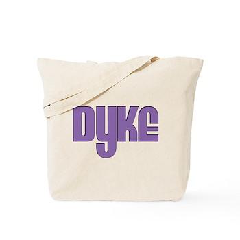 Purple Dyke Tote Bag