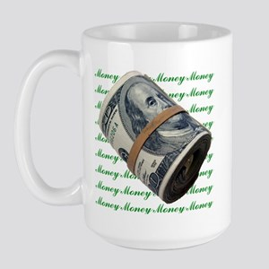 I am Financially Free! Large Mug