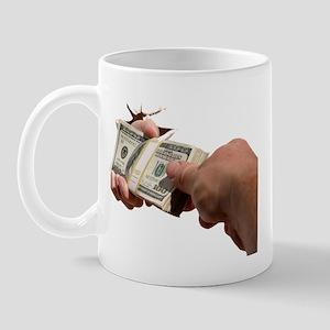 People Seek me ou to give money!  Mug