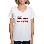 Smart Aliens Women's V-Neck T-Shirt