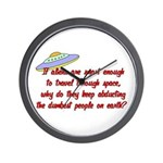 Smart Aliens Wall Clock