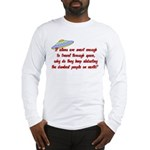 Smart Aliens Long Sleeve T-Shirt