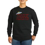 Smart Aliens Long Sleeve Dark T-Shirt