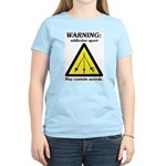 Warning: Addictive Sport Women's Light T-Shirt