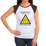 Warning: Addictive Sport Women's Cap Sleeve T-Shir