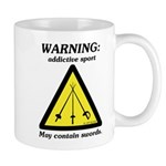 Warning: Addictive Sport Mug
