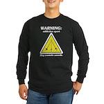 Warning: Addictive Sport Long Sleeve Dark T-Shirt