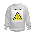 Warning: Addictive Sport Kids Sweatshirt