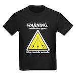 Warning: Addictive Sport Kids Dark T-Shirt