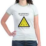 Warning: Addictive Sport Jr. Ringer T-Shirt