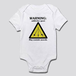 Warning: Addictive Sport Infant Bodysuit