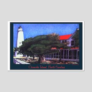 Ocracoke Island Mini Poster Print