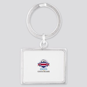Football Costa Ricans Costa Rica Soccer Keychains