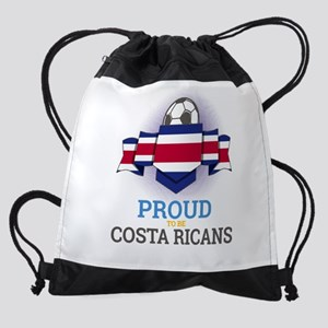 Football Costa Ricans Costa Rica So Drawstring Bag