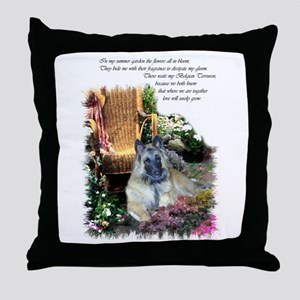 Belgian Tervuren Art Throw Pillow