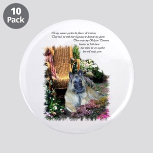 "Belgian Tervuren Art 3.5"" Button (10 pack)"