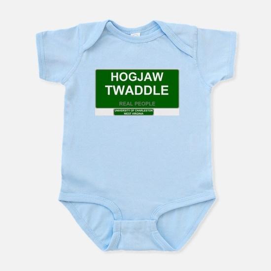 REAL PEOPLE - HOGJAW TWADDLE Body Suit