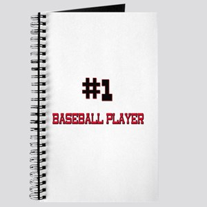 Number 1 BASEBALL PLAYER Journal