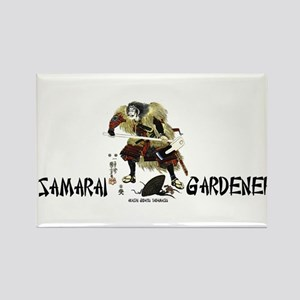 Samarai Gardener Rectangle Magnet