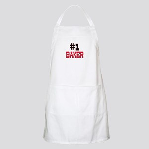 Number 1 BAKER BBQ Apron