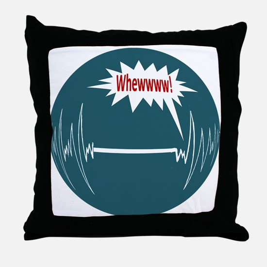Survived Throw Pillow