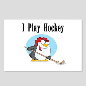 Penguin Hockey Postcards (Package of 8)