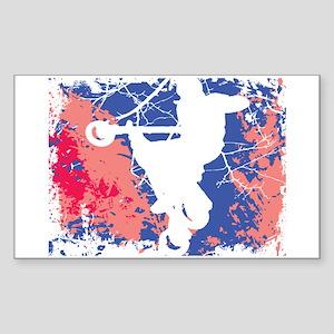 AIRBORN USA Rectangle Sticker