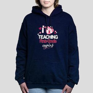Teacher Valentine I Love Teaching First Sweatshirt