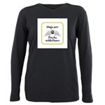 Dogs are Miracles with Paws T-Shirt