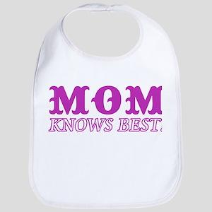 Mom Knows Best Bib