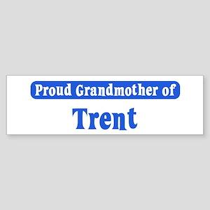 Grandmother of Trent Bumper Sticker