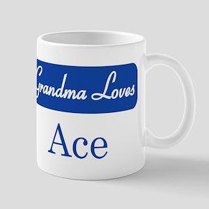 Grandma Loves Ace Mug