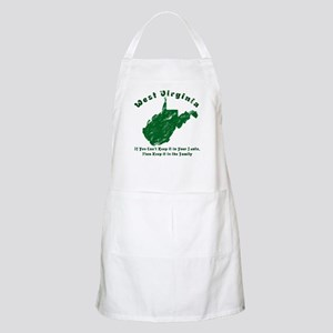 Vintage West Virginia BBQ Apron
