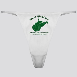 Vintage West Virginia Classic Thong
