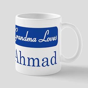Grandma Loves Ahmad Mug