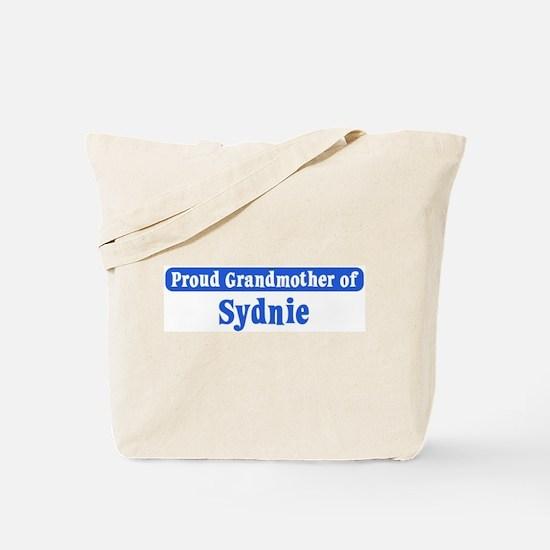 Grandmother of Sydnie Tote Bag