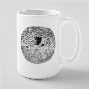 Sleepy Dog Large Mug