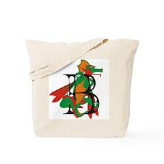 Dragon B Tote Bag