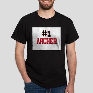 Number 1 ARCHER Dark T-Shirt