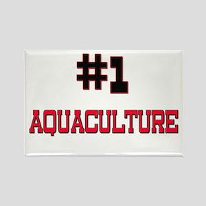 Number 1 AQUACULTURE Rectangle Magnet