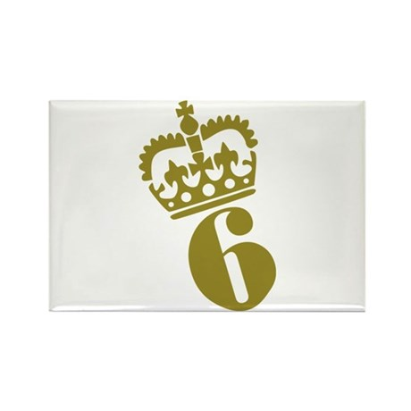 6th Birthday Rectangle Magnet (10 pack)