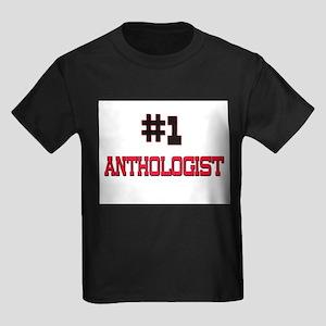 Number 1 ANTHOLOGIST Kids Dark T-Shirt