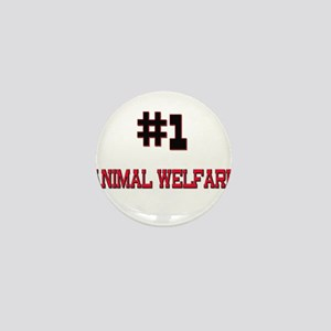 Number 1 ANIMAL WELFARE Mini Button