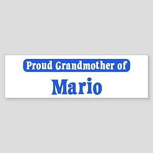 Grandmother of Mario Bumper Sticker