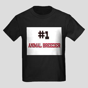 Number 1 ANIMAL BREEDER Kids Dark T-Shirt