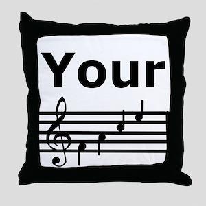 Your Face Throw Pillow
